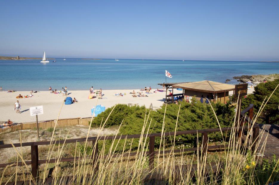 Schönster Sandstrand Sardiniens: La Pelosa