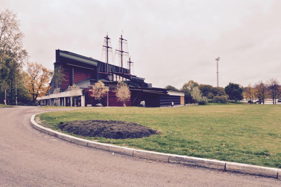 Das Vasa Museum von außen