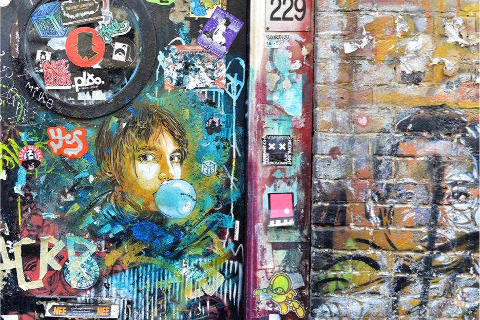 Street Art in Amsterdam 3
