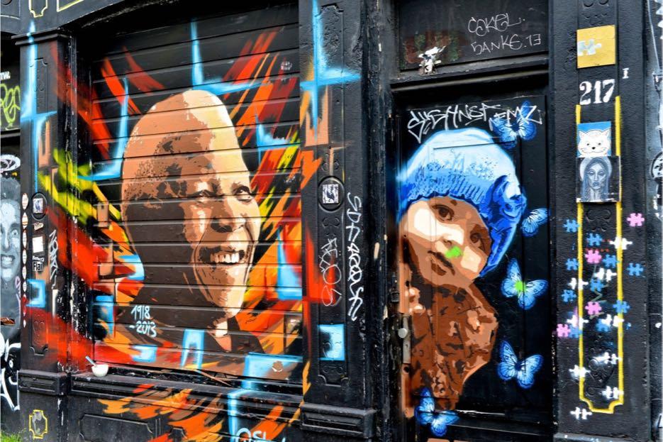 Street Art in Amsterdam 1