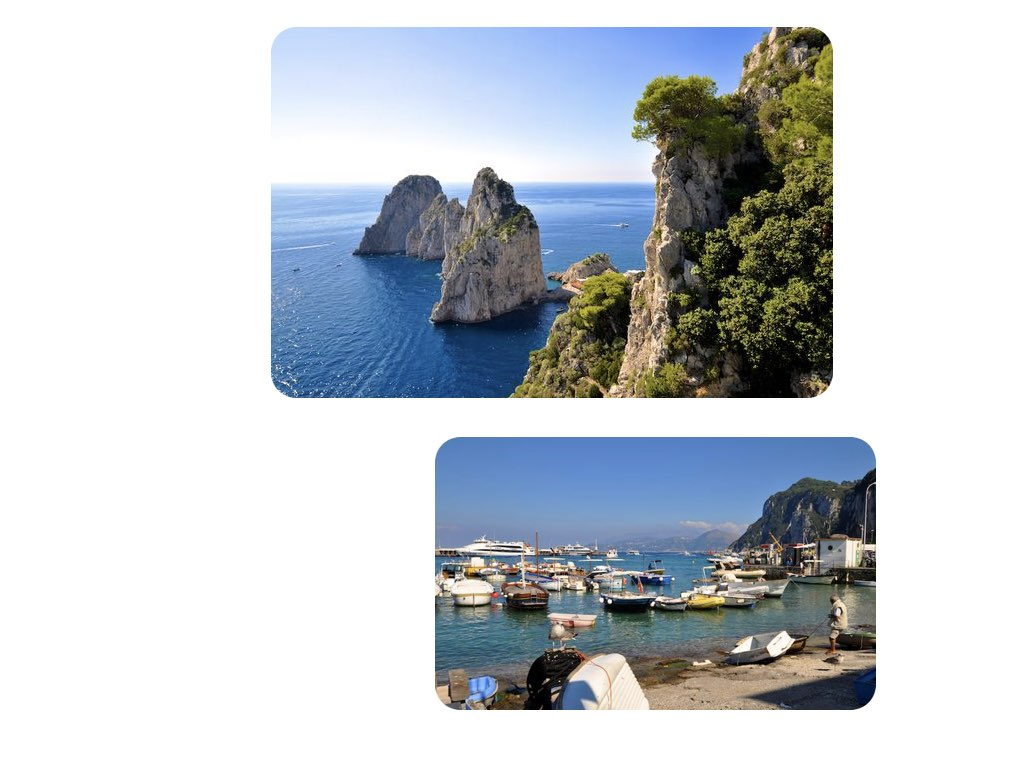 Capri – nirgends ist das Meer schöner.