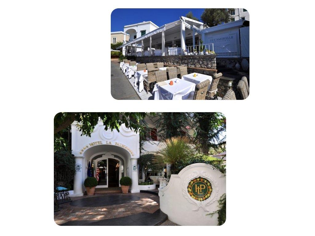 Die Restaurants und Hotels sind sehr schön, haben aber ihren Preis.