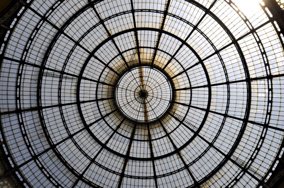 Beliebtes Fotomotiv: die Kuppel in der Galleria Vittorio Emanuele II
