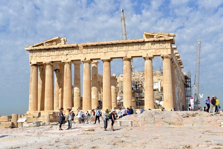 Imposant: Das Parthenon ist der Haupttempel der Anlage.
