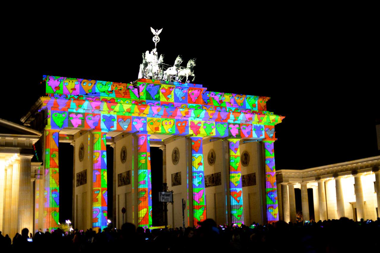 Festival of Lights Berlin: der absolute Farbknaller