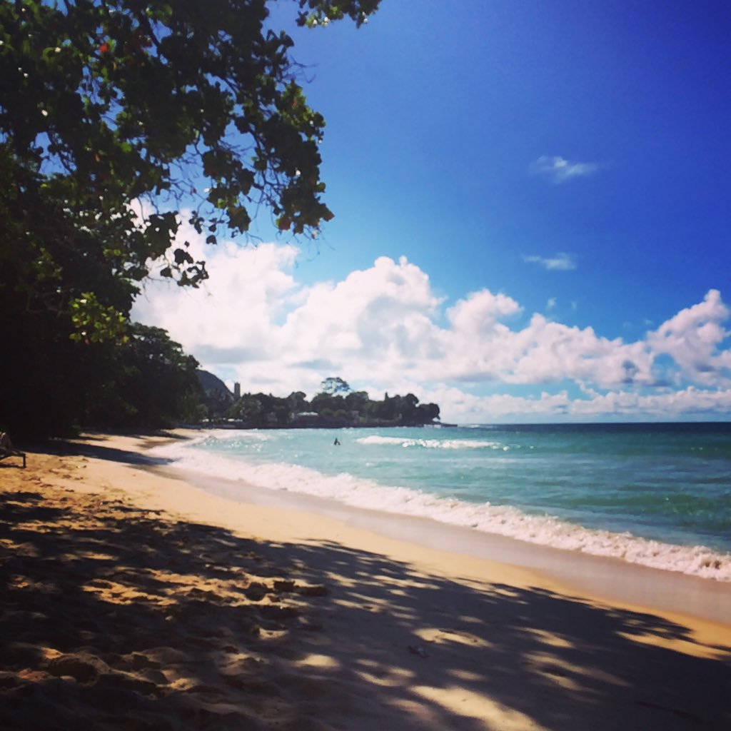 Beau Vallon Beach auf den Seychellen