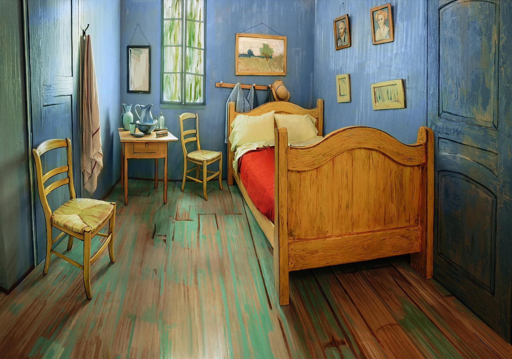 Van Gogh vermietet Airbnb-Zimmer