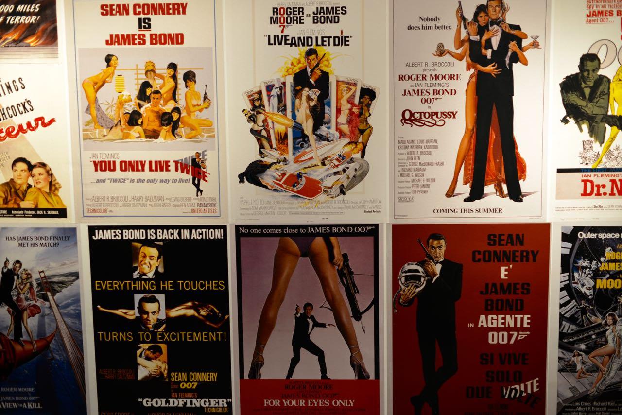 Der wohl bekannteste Spion: 007.