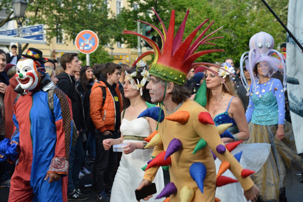 Karneval der Kulturen: alles Samba!