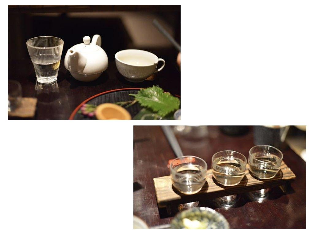 Tee oder Sake? Warum nicht beides?