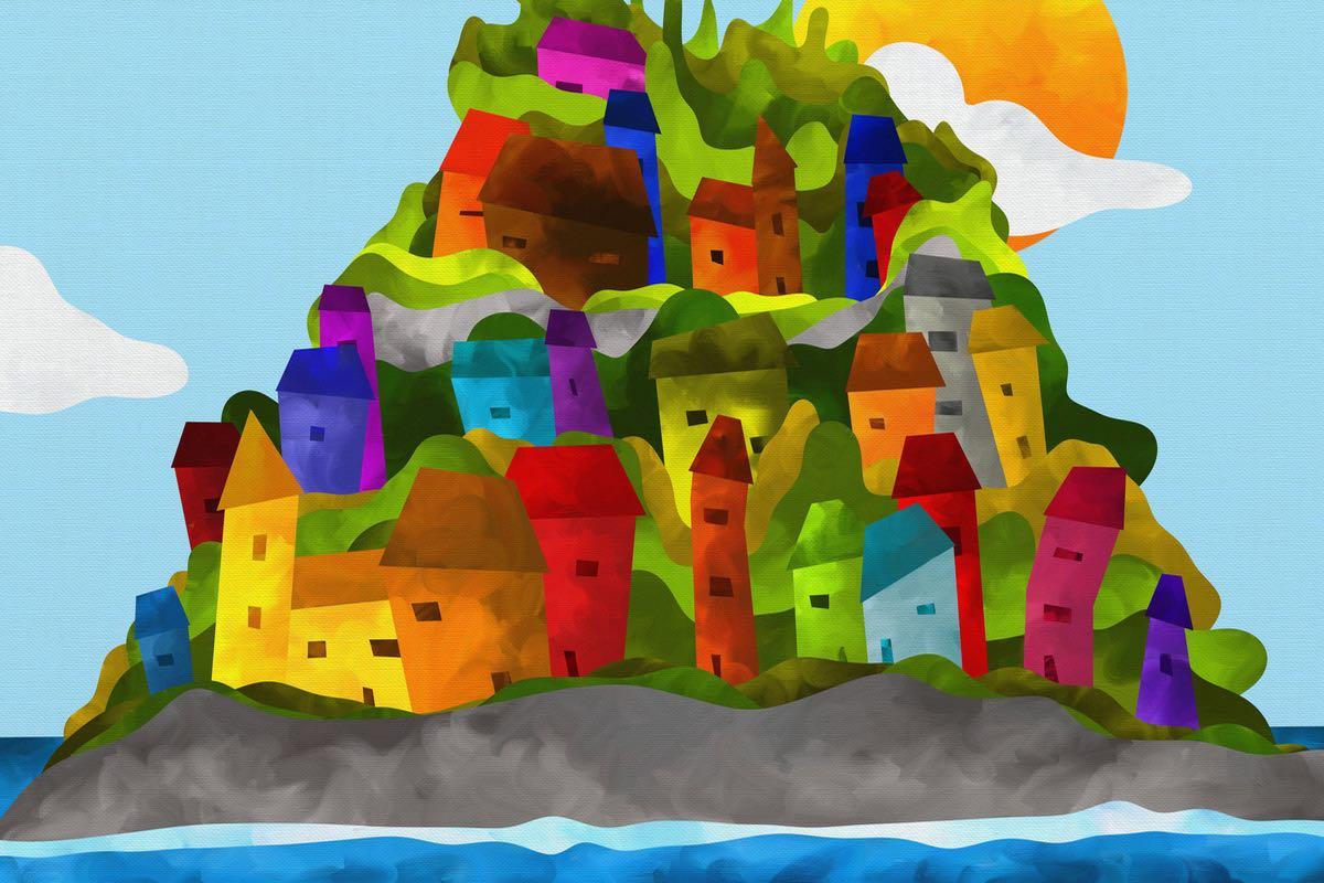 Miss Global Village und der Müllsammler
