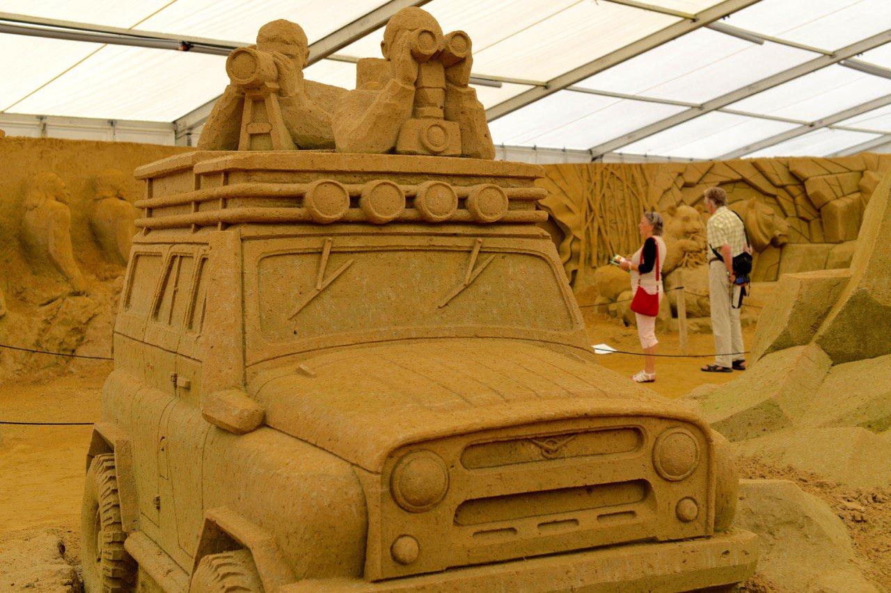 Wow: das Sandskulptur Festival in Binz