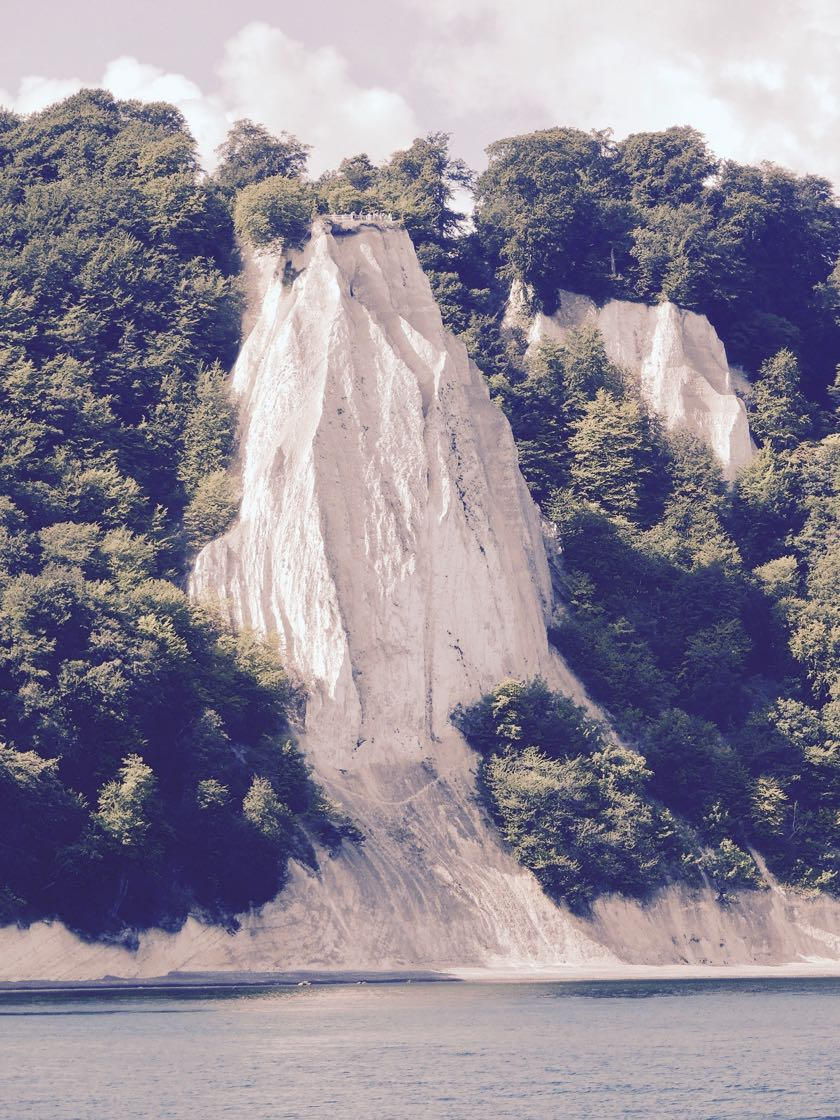Gefährliche Wanderung zum Kreidefelsen