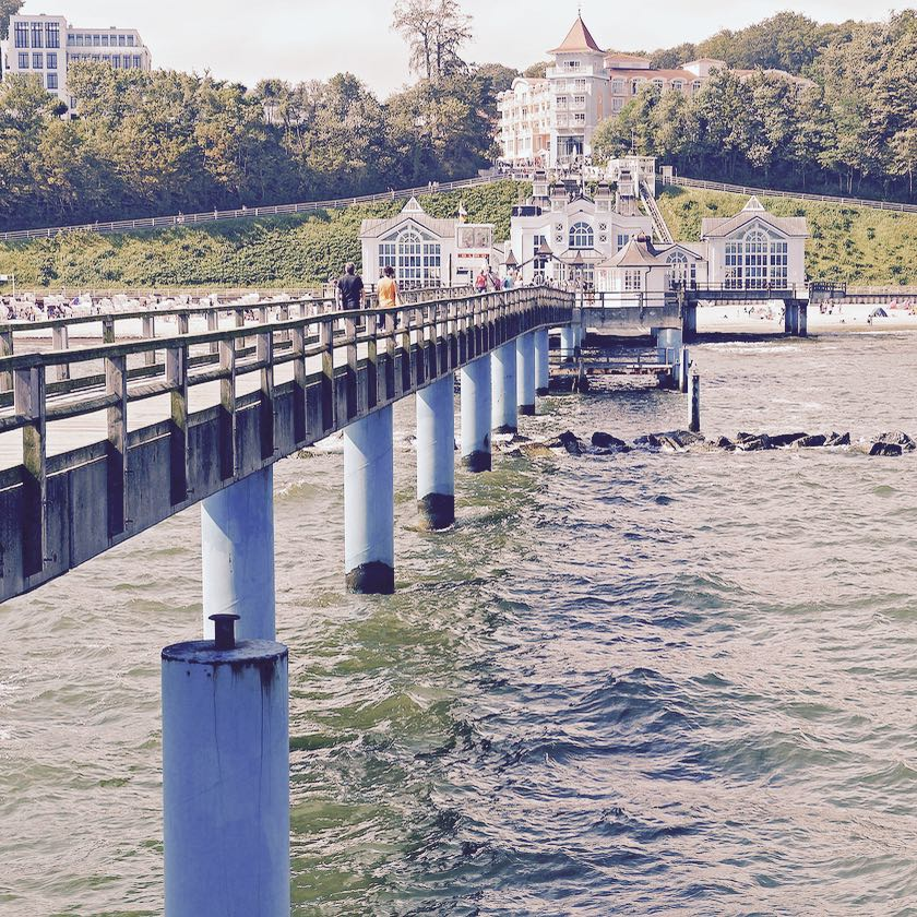 Deutschlands schönste Seebrücke