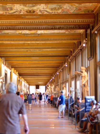 Mission Impossible: die Uffizien