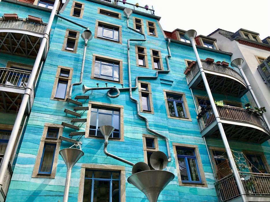 Die Kunsthofpassage in Dresden