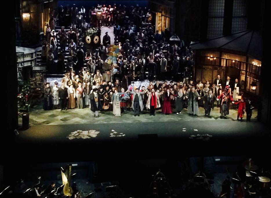 La Boheme in der Deutsche Oper