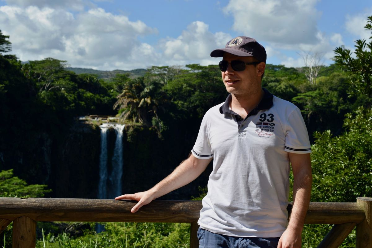 Chamarel Wasserfall auf Mauritius: 100 Meter Freude