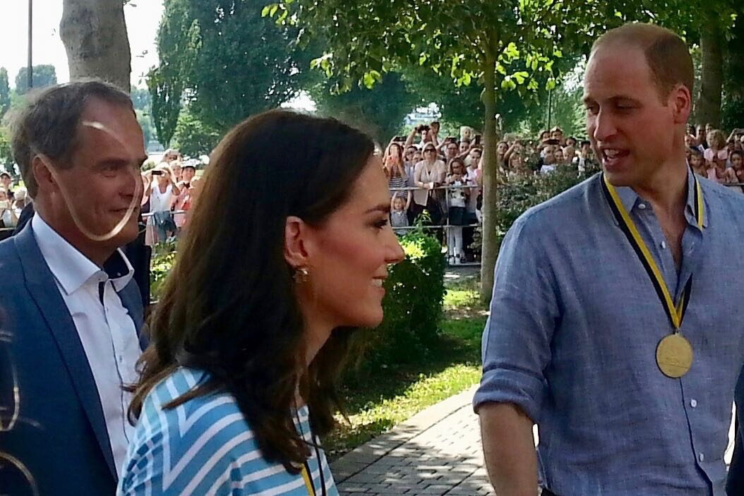 William und Kate in Heidelberg