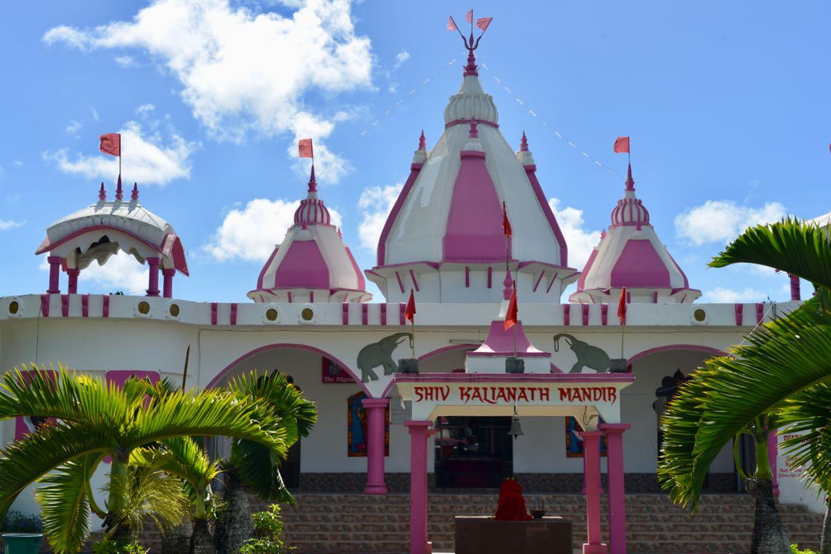 Die Hindu-Tempel auf Mauritius