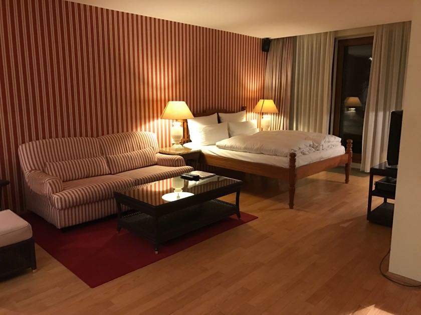 Hier ein anderes Zimmer im Clipper Hotel Hamburg