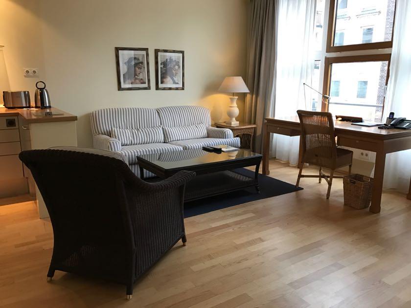 Ein Zimmer im Clipper Hotel Hamburg