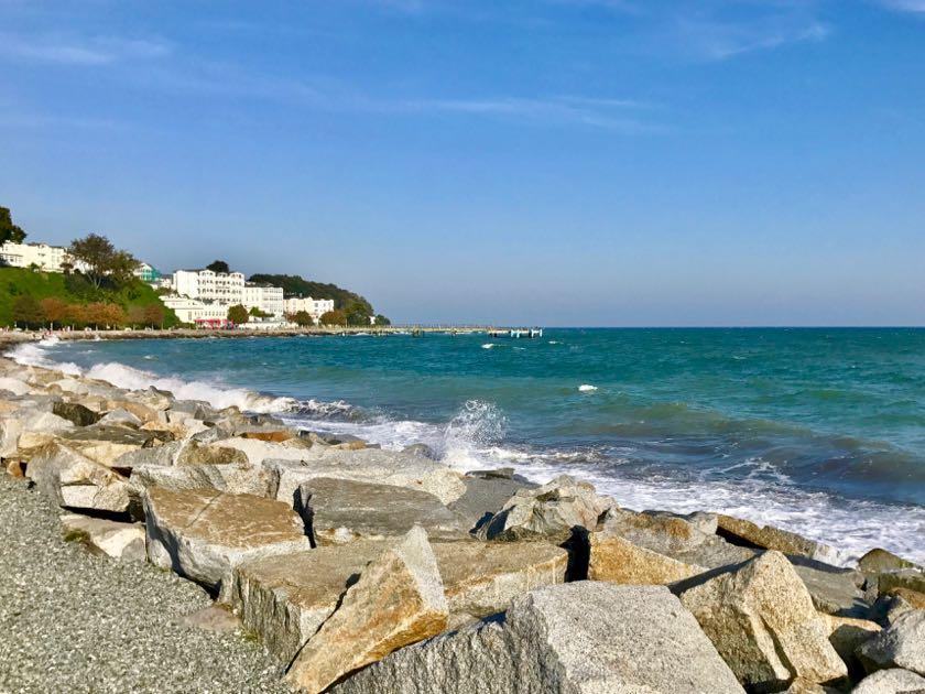 An der Küste ist Sassnitz am schönsten.