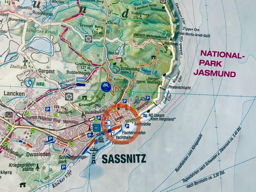 Sassnitz: Immer gut, wenn man einen Plan hat.