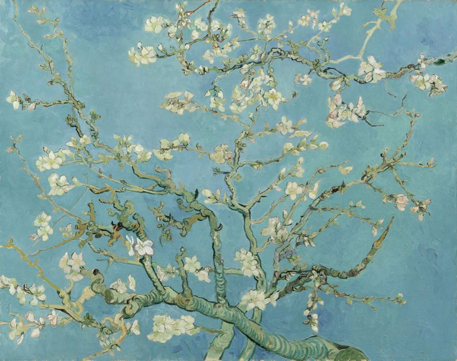 Van Gogh und Japan Vincent van Gogh, Mandelblüte, 1890. Van Gogh Museum