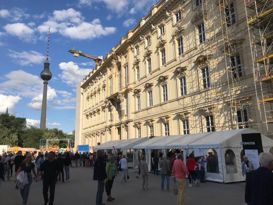 Berliner Schloss Baustelle